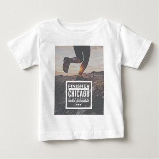 Chicago Marathon Finisher Run Running Race Baby T-Shirt
