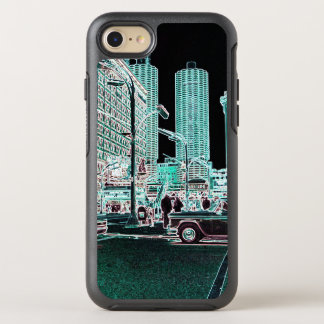 Chicago Marina City 1963 State Street Neon OtterBox Symmetry iPhone 8/7 Case