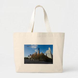 Chicago - Millennium Park Jumbo Tote Bag