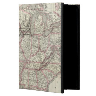Chicago Milwaukee and St Paul Ry and connections iPad Air Cover