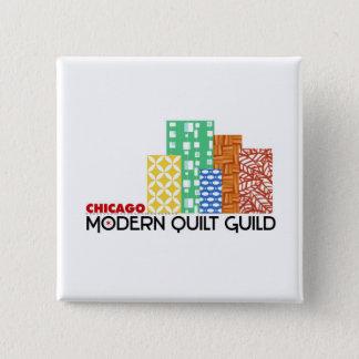 Chicago Modern Quilt Guild Square Button