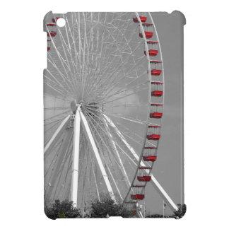 Chicago Navy Pier Ferris Wheel iPad Mini Covers