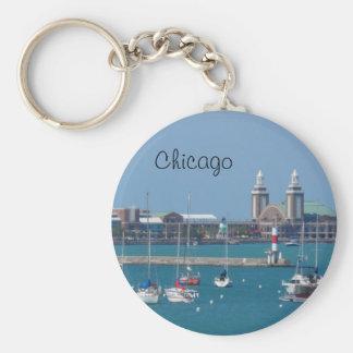 Chicago Navy Pier Keychain