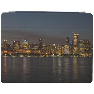 Chicago Night Cityscape iPad Cover