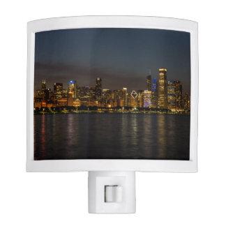 Chicago Night Cityscape Nite Lites