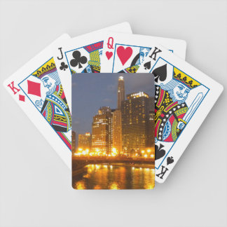 Chicago Nights Playing Cards