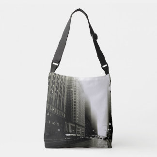 chicago noir crossbody bag