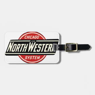 Chicago & Northwestern Railroad Logo 1 Luggage Tag
