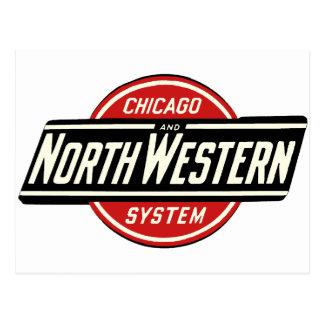 Chicago & Northwestern Railroad Logo 1 Postcard
