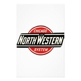 Chicago & Northwestern Railroad Logo 1 Stationery
