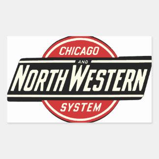 Chicago & Northwestern Railroad Logo 1 Sticker