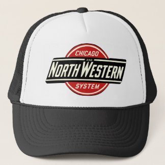 Chicago & Northwestern Railroad Logo 1 Trucker Hat