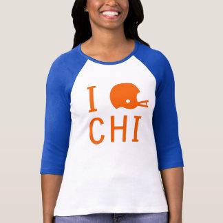 Chicago - orange/navy/white T-Shirt