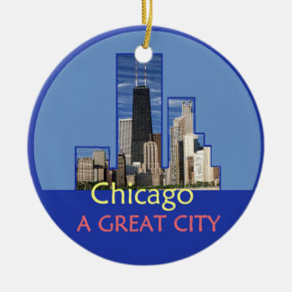 CHICAGO Ornament
