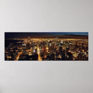 Chicago Panoramic Poster