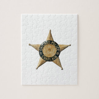 Chicago Police Chaplain Jigsaw Puzzle