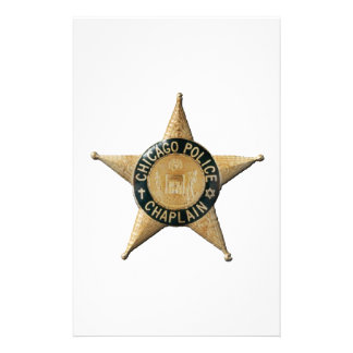 Chicago Police Chaplain Stationery