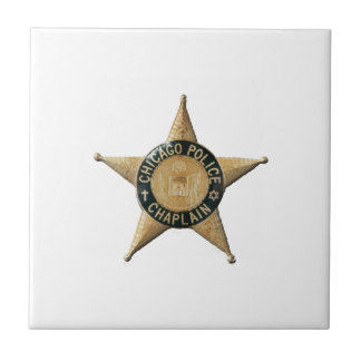 Chicago Police Chaplain Tile