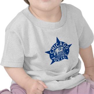 Chicago Police VINTAGE STAR Tshirts