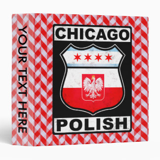 Chicago Polish American Binder