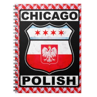 Chicago Polish American Notepad Spiral Notebook