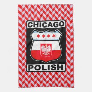 Chicago Polish American Tea Towels