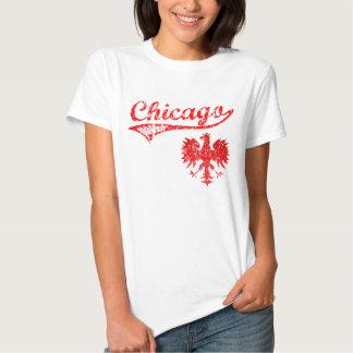 Chicago Polish Baseball style Tee Shirt