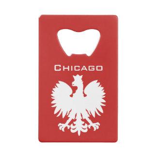 Chicago Polish Eagle Bottle Opener Wallet Bottle Opener