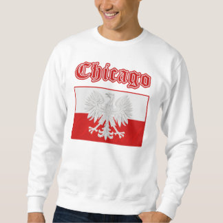 Chicago Polish Flag Sweatshirt