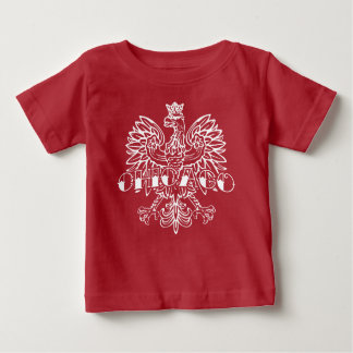 Chicago Polish White Eagle Ink Baby T-Shirt