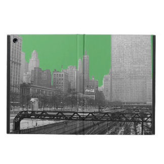 Chicago Rail Yards Loop Railroad 1960's Photo Cover For iPad Air