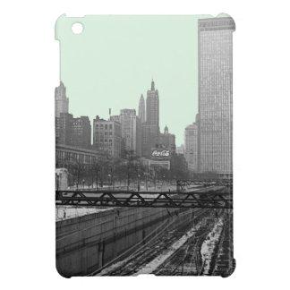 Chicago Rail Yards Michigan Avenue 1960's Photo Cover For The iPad Mini