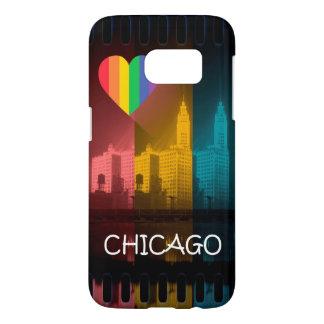 Chicago Rainbow Phone Cover Gay Pride Wrigley Bldg