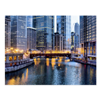 Chicago reflects postcards