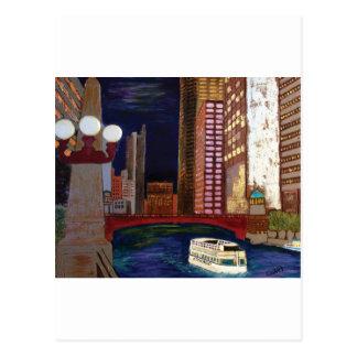 Chicago River Postcard
