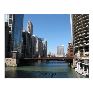 Chicago River Post Card