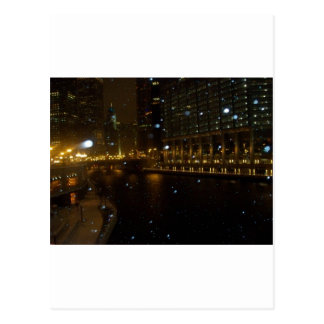 Chicago River walk along Michigan Ave. Postcards