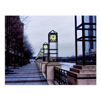 Chicago river walk postcards