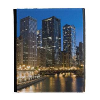 Chicago Riverfront iPad Folio Covers