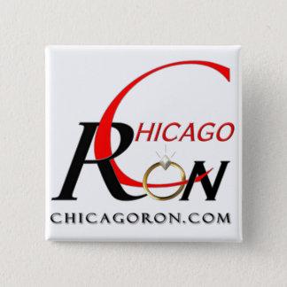 """""""Chicago Ron"""" Logo Button"""