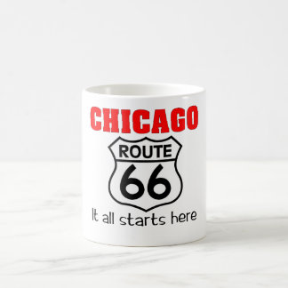 Chicago Route 66 mug