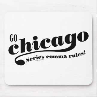 Chicago Rules Mouse Pad