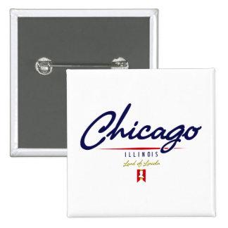 Chicago Script Pins
