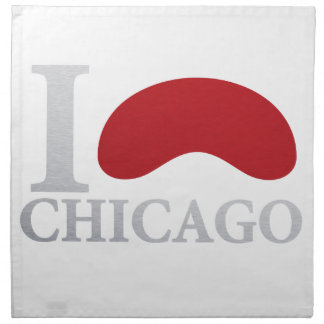 CHICAGO SEES NAPKIN