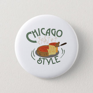 Chicago Sign 2 Inch Round Button