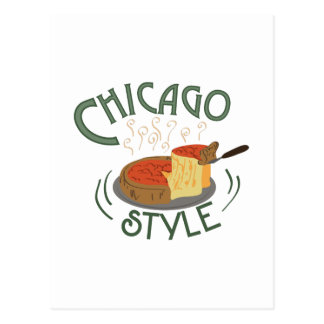 Chicago Sign Postcard