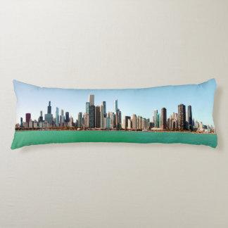 Chicago Sky Line Body Pillow