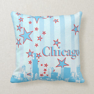 Chicago Skyline Accent Pillow