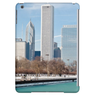 Chicago skyline across frozen Lake Michigan iPad Air Cover