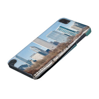 Chicago skyline across frozen Lake Michigan iPod Touch (5th Generation) Case